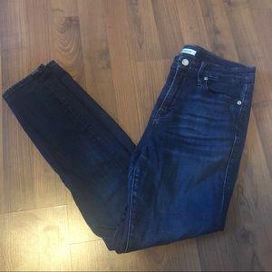 Good American Good Waist Dark Blue Jeans